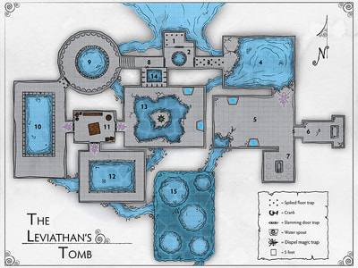 Map: The Leviathan's Tomb